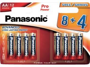 PANASONIC LR6PPG AA Mignon Batterie, Alkaline, 1.5 Volt