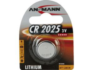 ANSMANN CR2025 CR 2025 Knopfzelle, Lithium, 3 Volt 1 Stück
