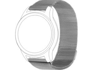 TOPP 40-37-7597, Ersatz-/Wechselarmband, Samsung, Garmin, Silber