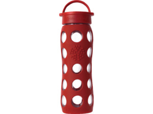 LIFEFACTORY 13573 Trinkflasche Rot