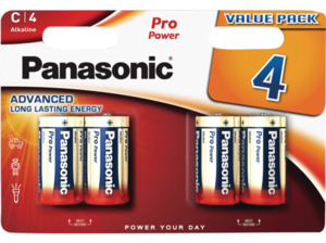 PANASONIC LR14PPG/4BW C (LR14) Batterien, Alkaline, 1.5 Volt
