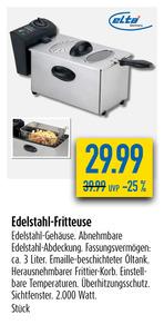 Edelstahl-Fritteuse