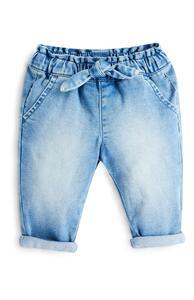 Lässige Jeans mit Taillenbund zum Binden für Babys (M)