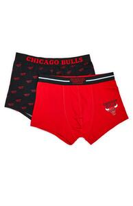 "Rote ""NBA Chicago Bulls"" Boxershorts, 2er-Pack"