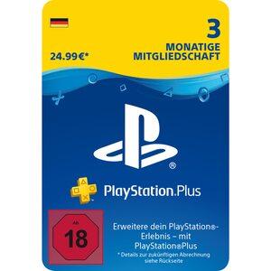 Sony PlayStationPlus: Mitgliedschaft 3 Monate DE