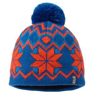 Jack Wolfskin Kids Nordic Pompom Cap S blau classic blue