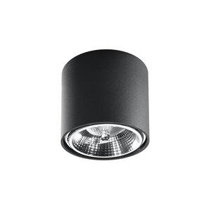 """Sollux Lighting              Deckenleuchte """"Tiube"""", schwarz"""