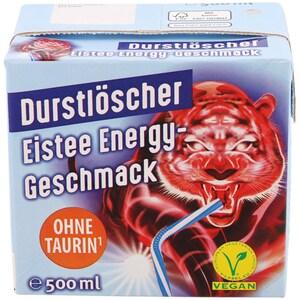 Durstlöscher Eistee Energy-Geschmack