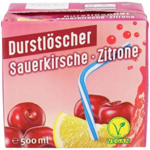 Durstlöscher Sauerkirsche - Zitrone
