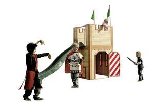 Spielturm Arthur aus Zedernholz