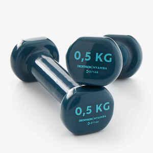 Hanteln Fitness 0,5kg türkis