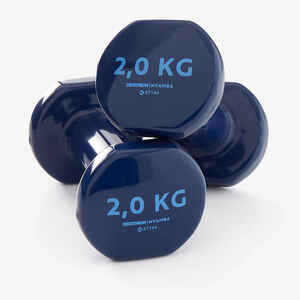 Hanteln Fitness 2kg blau