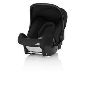 Römer Babyschale baby-safe , 2000026517 Baby-Safe  *mb* , Schwarz , Kunststoff , 44x57x65 cm , 5-Punkt-Gurtsystem, abnehmbarer und waschbarer Bezug, ergonomischer Tragebügel, Flugzeugzulassung, Gur