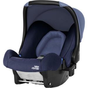 Römer Babyschale baby-safe , 2000027812 Baby-Safe  *mb* , Blau, Schwarz, Dunkelblau , Kunststoff , 44x57x65 cm , 5-Punkt-Gurtsystem, abnehmbarer und waschbarer Bezug, ergonomischer Tragebügel, Flug