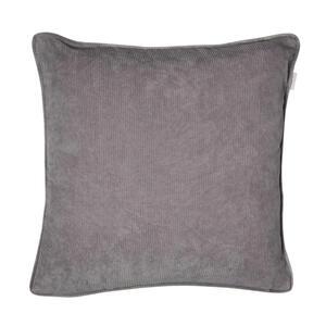 Esprit Kissenhülle grau 38/38 cm , E-Cord , Textil , Uni , 38x38 cm , hochwertige Qualität , 003021092101