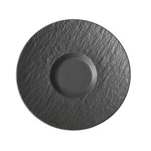 Villeroy & Boch Untertasse , 1042391220 , Schwarz , Keramik , Uni , 003407160701