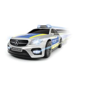 Dickie Toy Polizeiauto , 203716018 , Blau, Silberfarben , Kunststoff , 39.5x19.5x15 cm , Geräuscheffekte, Lichteffekte,Geräuscheffekte, Lichteffekte,Geräuscheffekte, Lichteffekte , 004500044701