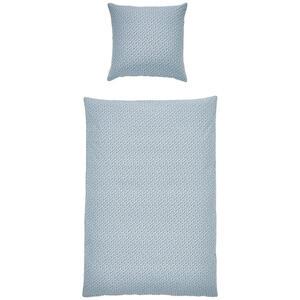 Esprit Bettwäsche renforcé blau, schwarz, weiß , E-Scatter , Textil , Uni , 135x200 cm , Renforcé , angenehm wärmend, samtiger Griff , 003021089805
