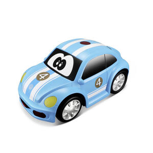 XXXLutz Fernlenkauto , 16-92007 VW NEW Beetle Rc , Blau , Kunststoff , 28.00x21.50x17.60 cm , schadstofffrei, Lichteffekte, Temporegelung,schadstofffrei, Lichteffekte, Temporegelung,schadstofffrei, L