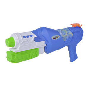 Simba Waterzone strike blaster blau, grün, multicolor, weiß , 107276060 , Kunststoff , 38 cm , 004500051201