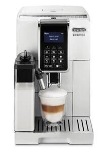 DELONGHI ECAM 353.75.W DINAMICA weiß Kaffeevollautomat (one-touch, Milchaufschäum-System, Milchbehälter, Display, Kegelmahlwerk)
