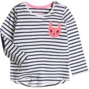 COOL CLUB Baby Langarmshirt für Mädchen 74CM
