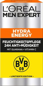L'ORÉAL PARIS MEN EXPERT Feuchtigkeitscreme »Hydra Energy 24H Anti-Müdigkeit BVB Edition«