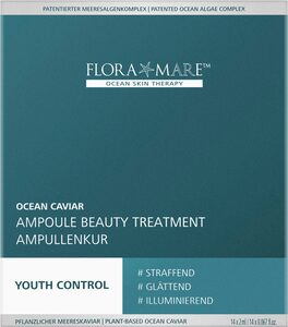 FLORA MARE Gesichtskur »Youth Control Ocean Caviar Ampoule Beauty Treatment«