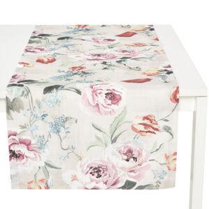 """Galeria home Tischläufer """"Blüten Allover"""", Druck, 40x160 cm"""
