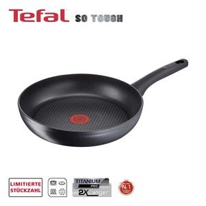 """Serie """"SO TOUGH"""" · widerstandsfähige TEFAL-Titanium Pro® Antihaft-Versiegelung · Starker, langlebiger Induktionsboden für perfekte Hitzeverteilung · verstärkter Rand für zusätzliche  Stabili"""