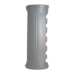 Garantia Regenwasser-Säulen-Wandtank 550 l Steingrau
