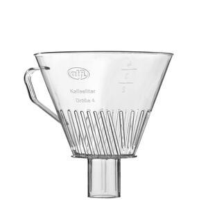 Alfi Kaffeefilterhalter , 0099000000 , Klar , Kunststoff , 14 cm , 0033840068