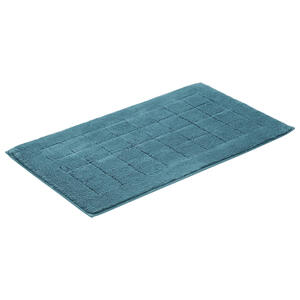 Vossen Badteppich 67 x 120 Petrol 67/120 cm , 7933/4143 , Textil , 67x120 cm , Taft , für Fußbodenheizung geeignet, rutschhemmend , 003355032843