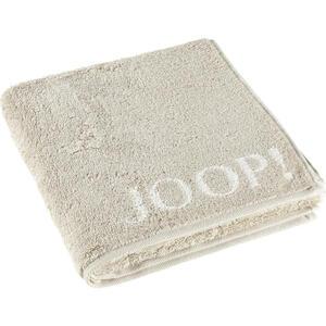 Joop! Handtuch 50/100 cm , 1600 Joop! Classic Doubleface , Beige , Textil , Schriftzug , 50x100 cm , Frottee , Aufhängeschlaufe , 003367211403