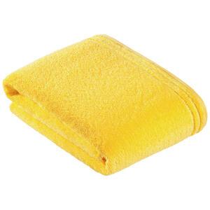 Vossen Badetuch 100/150 cm , 8807/2321 Calypso Feeling , Gelb , Textil , Uni , 100x150 cm , Frottee , saugfähig , 003355046202
