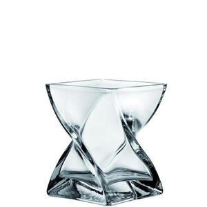 Leonardo Vase , 014108 , Klar , Glas , 17 cm , klar , nur zu Dekorationszwecken, handgemacht, zum Stellen , 003813803502