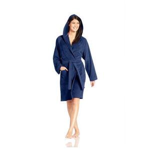 Vossen Bademantel dunkelblau , 7990/5112 Texas , Textil , Velours , Taschen , 003355122002