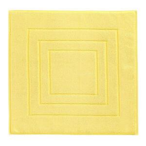 Vossen BADEMATTE Gelb 60/60 cm , 8111/1200 , Textil , Uni , 60x60 cm , Frottee , für Fußbodenheizung geeignet , 003355046502