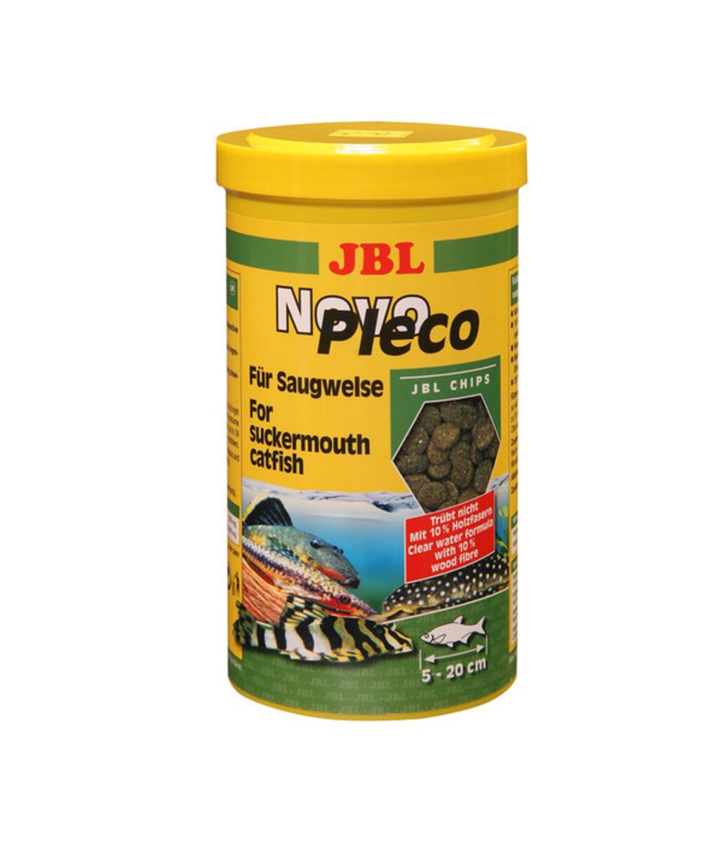 Bild 1 von JBL Fischfutter NovoPleco Chips