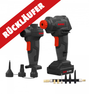 Rowi Akku-Pumpe und Kompressor - Rückläufer
