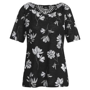 Damen T-Shirt mit floralem Muster