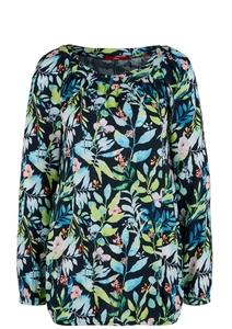 Damen Bluse mit floralem Muster