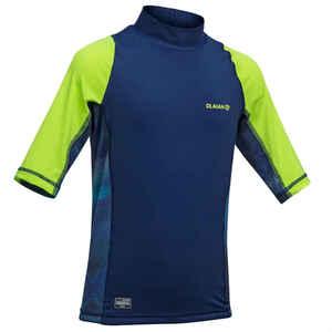 UV-Shirt 500 blau/grün