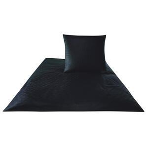 Joop! Bettwäsche makosatin schwarz , Joop! 4020 Cornflower , Textil , Uni , 155x220 cm , Makosatin , pflegeleicht, schadstoffgeprüft, edel glänzend, dicht gewebtes Garn , 004977096210