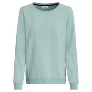 Damen Sweatshirt mit Druckknöpfen