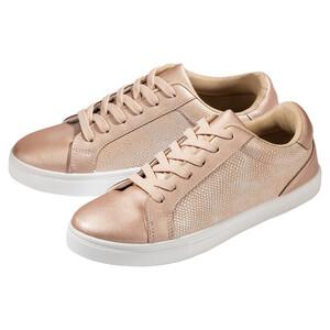 Damen Sneaker im Metallic-Look
