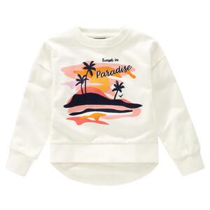 Mädchen Sweatshirt mit Palmen-Motiv