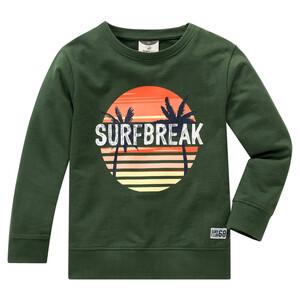 Jungen Sweatshirt mit buntem Print