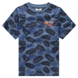 Jungen T-Shirt mit Blätter-Print
