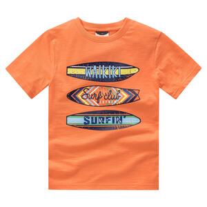 Jungen T-Shirt mit Surfbrett-Motiv